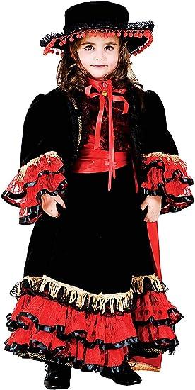 VENEZIANO Disfraz BAILARN del Flamenco DE BEB Vestido Fiesta de ...
