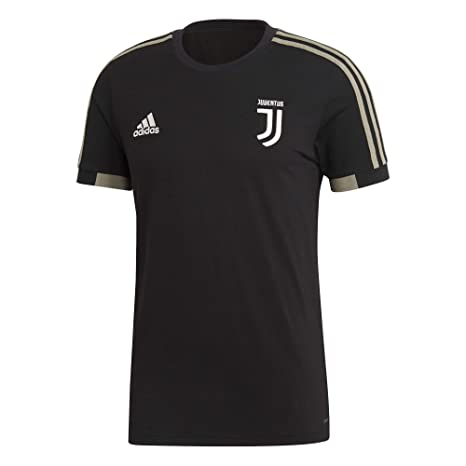 16047a786 Amazon.com   adidas Juventus Black T-Shirt 2018-2019   Sports   Outdoors