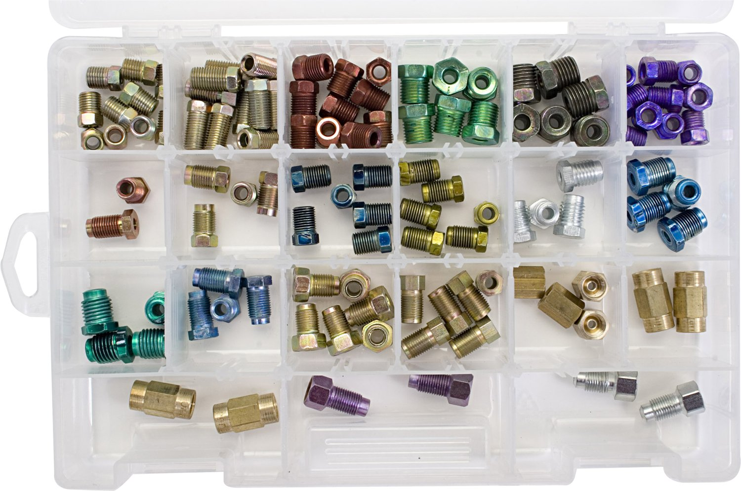 S.U.R. & R. BR316 3/16' Brake Line Fitting Assortment