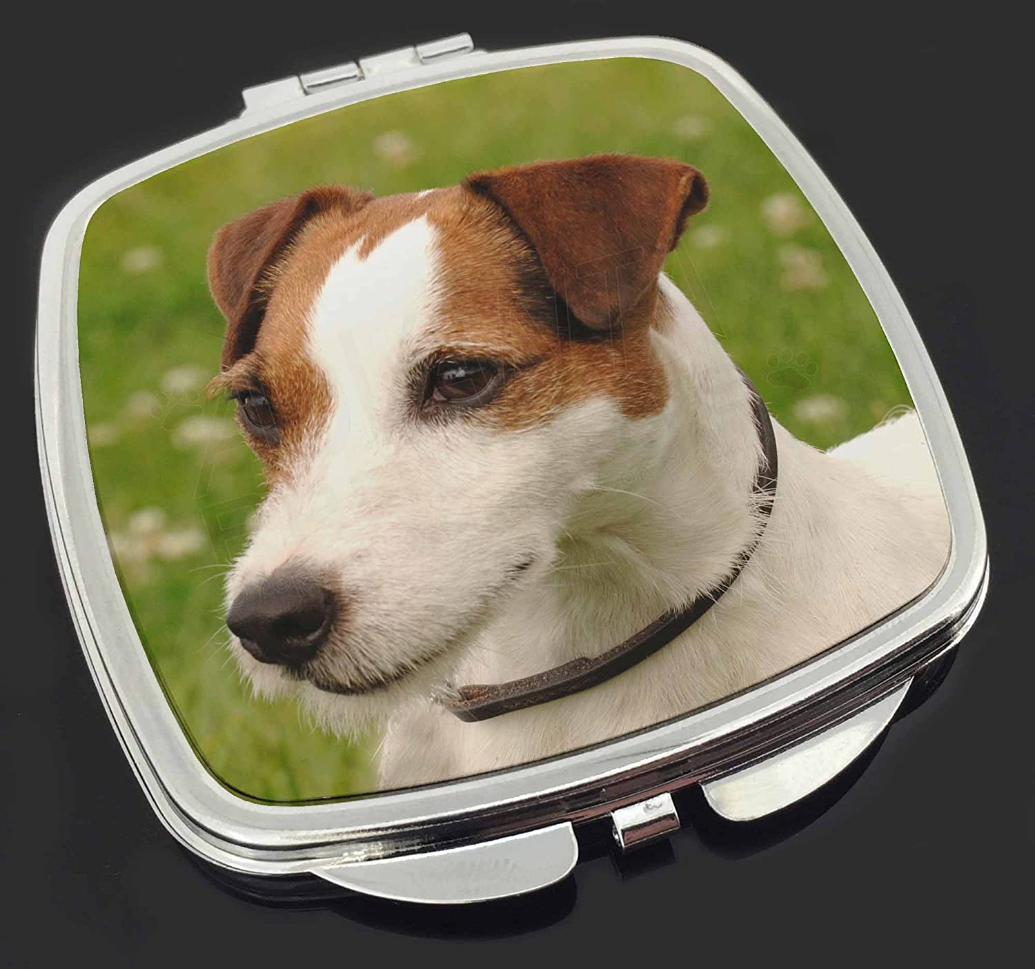 Jack Russell Terrier Dog Make-Up Compact Mirror Stocking Filler Gift Advanta Products