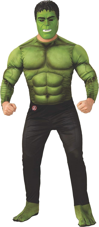 Rubie's Marvel Avengers: Endgame Deluxe Hulk Adult Costume and Mask