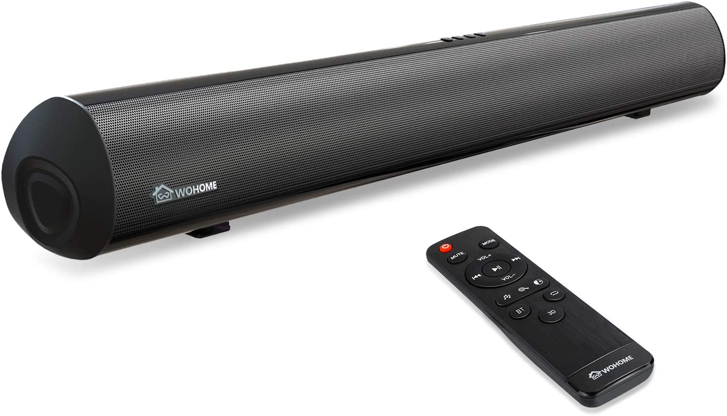 Surround Sound System for Home Theater. HDMI//Optical//Aux//USB Sound Bar Sound Bar with Dual Built-in Subwoofer Wall Mountable 90W Wired /& Wireless Bluetooth 5.0 38 Inch 2.1 Sound Bar for TV