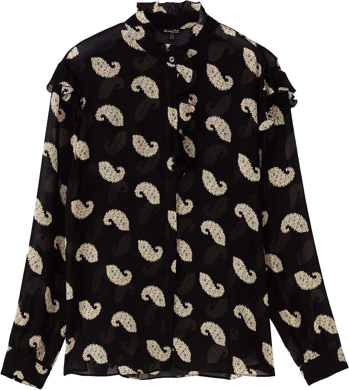 MASSIMO DUTTI 5136/812/800 - Camisa para Mujer con Estampado ...