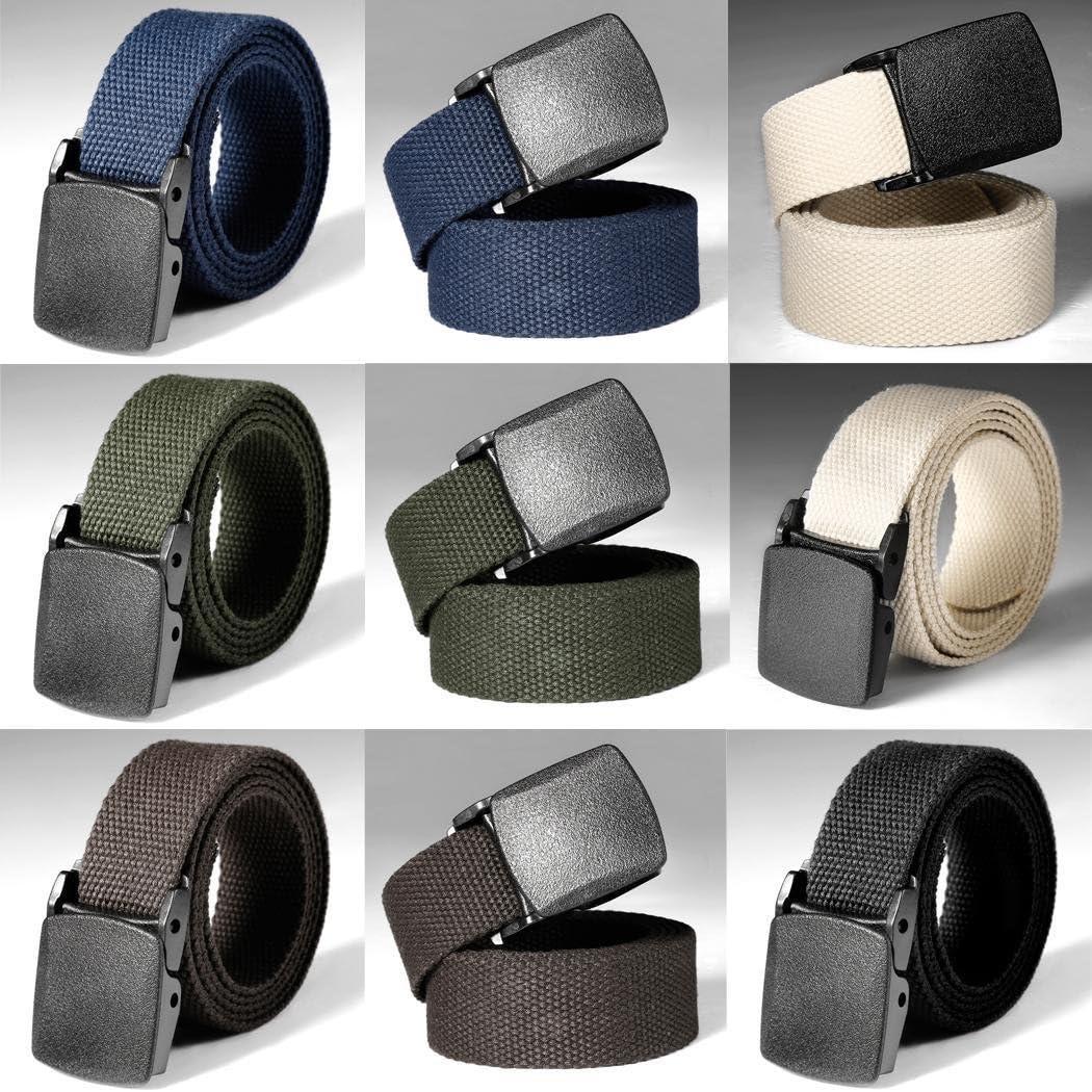 Dongtu Tactical Adjustable Survival Solid Nylon Outdoor Waist Belt Belts