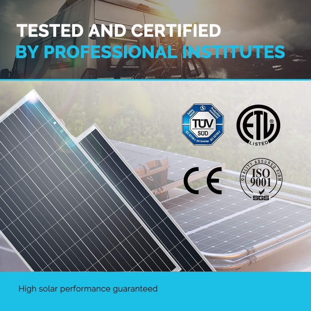 Renogy 100 Watt 12 Volt Monocrystalline Solar Panel (New Edition), Design by Renogy (Image #3)