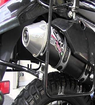 Lexx MXe Slip-On Silencer With Mid-Pipe Fits:YAMAHA RAPTOR 250 2008–2013-ATV