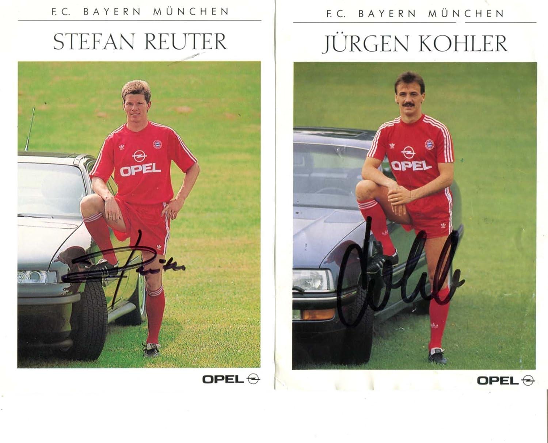 Amazon.com: Jürgen Kohler & Stefan Reuter autographs, signed cards ...