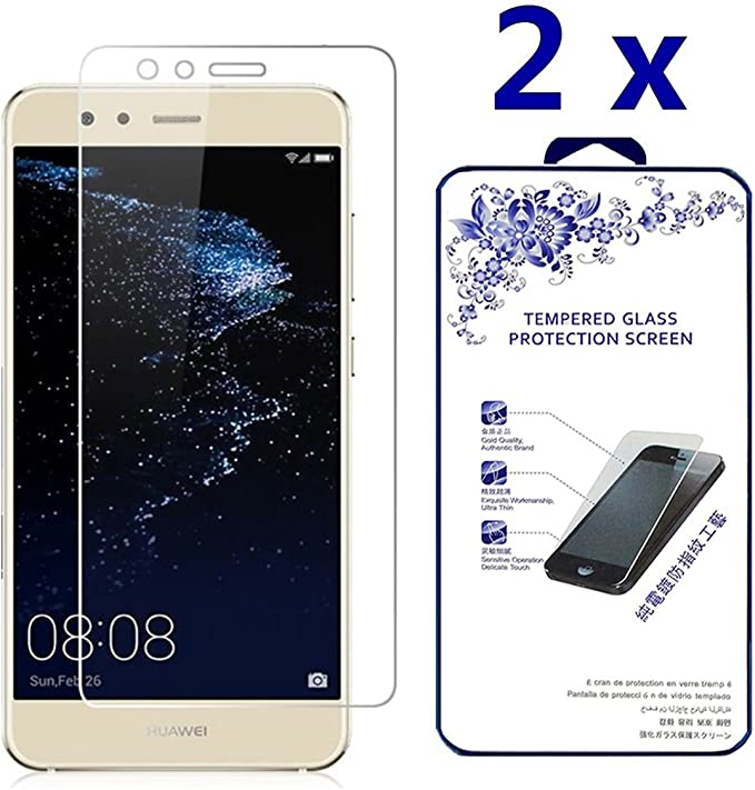 2 Pack Screen Protector Compatible with Enjoy 10E UNEXTATI Anti Scratch Tempered Glass Screen Protector Film for Huawei Enjoy 10E