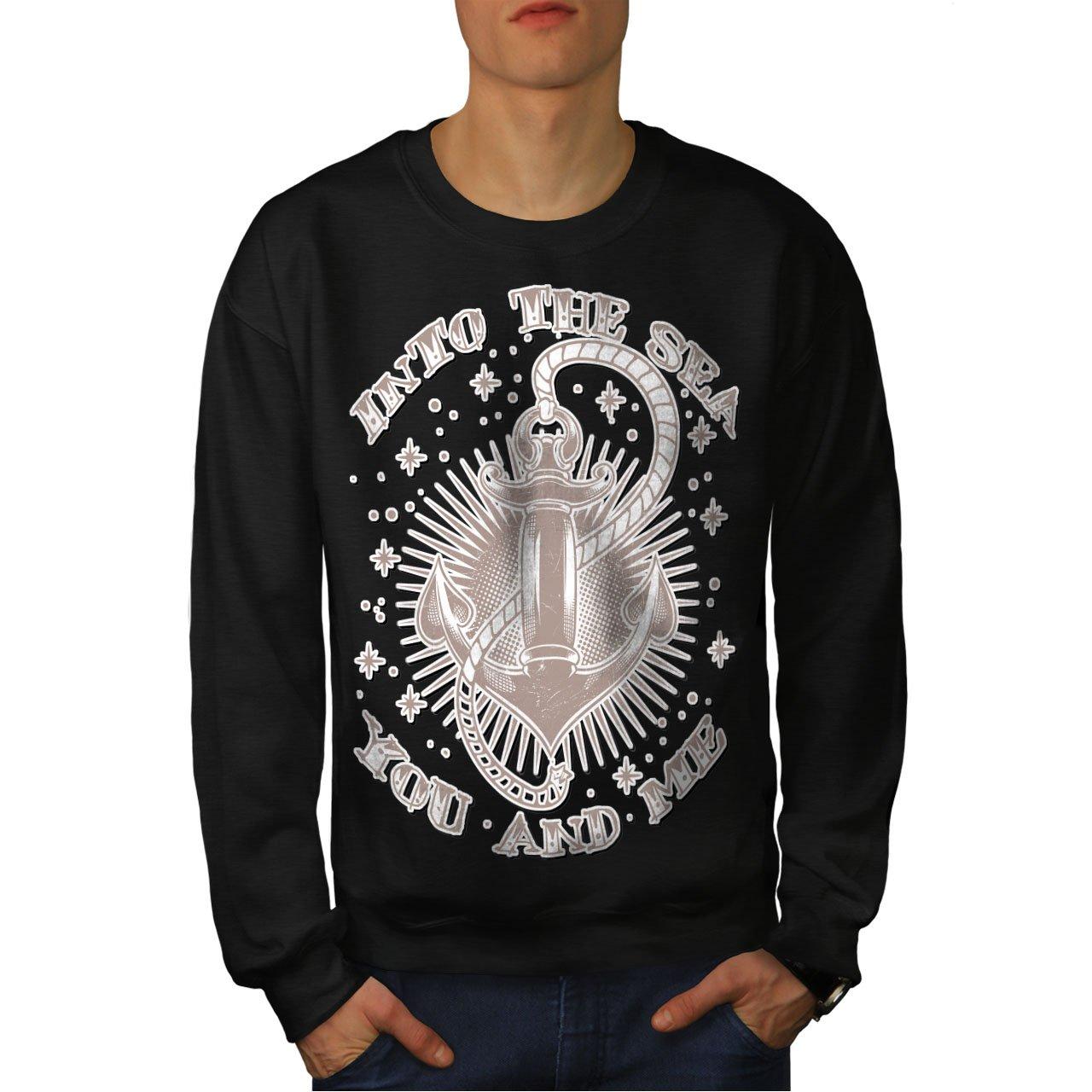 Anchorage Casual Jumper wellcoda Into Sea Together Mens Sweatshirt