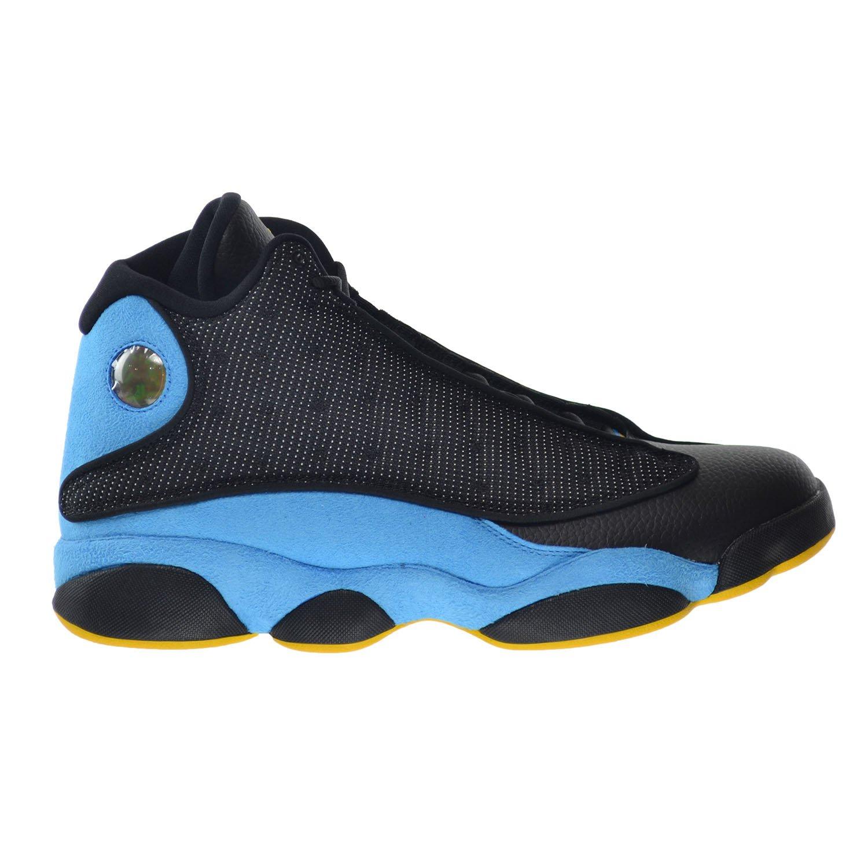 Schwarz  Blau   Gelb (Schwarz  Sunstone-orion-blau) Nike Herren Air Jordan 13 Retro Cp Pe Turnschuhe