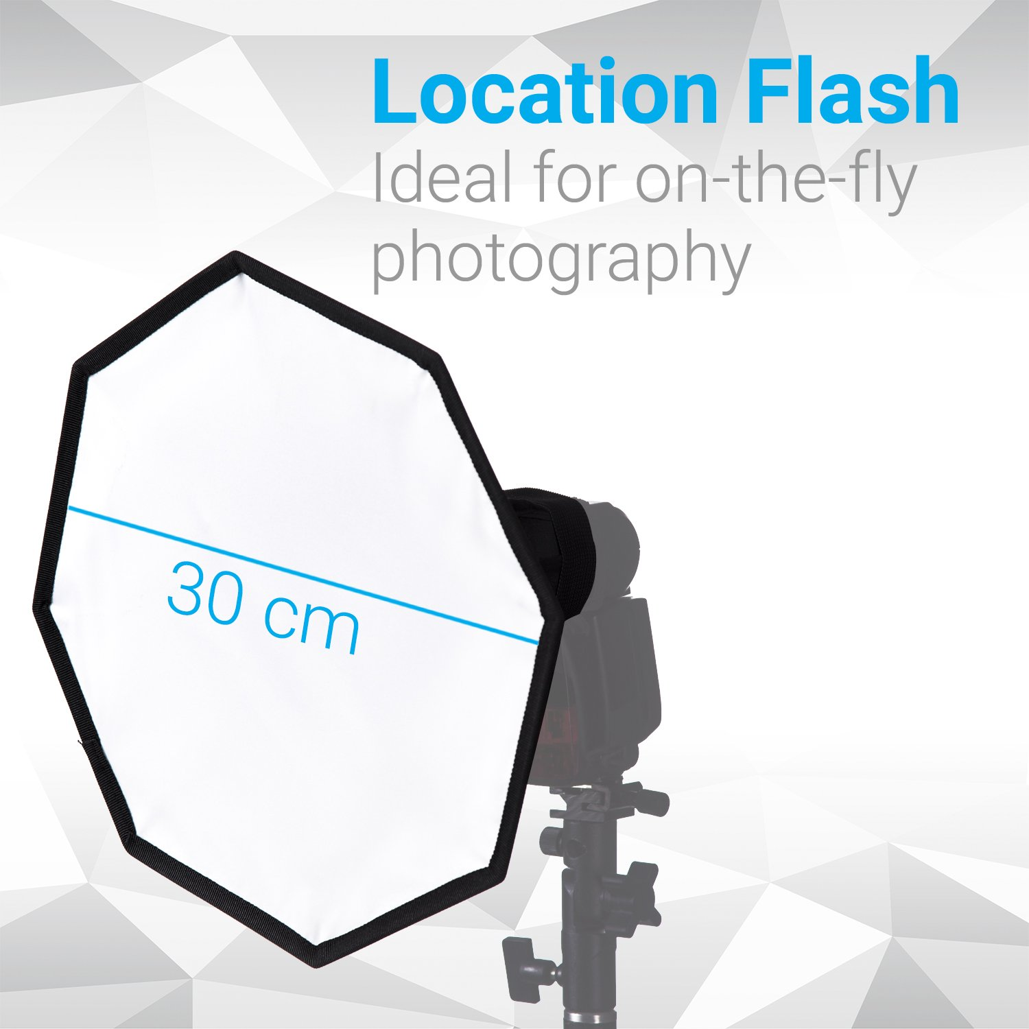 Perfect For Lighting Direction /& Lens Flare Prevention Includes Removable Honeycomb Gird Metal Conical Snoot with Honeycomb Grid For Flashgun Speedlite
