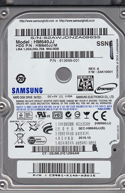 Samsung hd161hj firmware download.