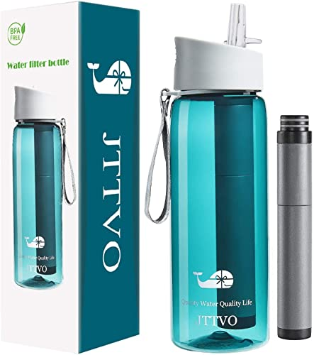 JTTVO Water Bottle with Filter
