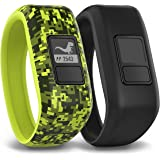 Garmin Vivofit Jr. Tracker with 2 Bands, Digi Camo and Black