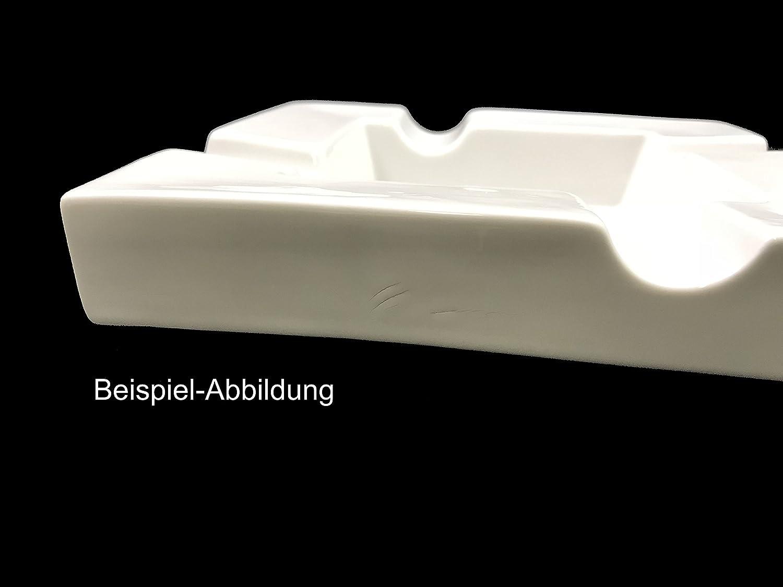 """Zigarren Aschenbecher aus Porzellan /""""B-Smoke/"""" Topkapi 350.942 Zigarrenascher II.-Wahl mit 4 Ablagen"""