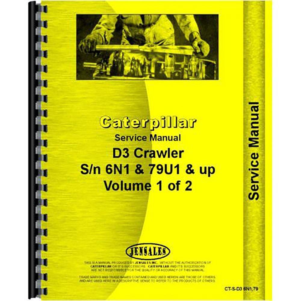 For Caterpillar D3 Crawler Service Manual (New): Amazon.com: Industrial &  Scientific