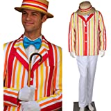 CosplayDiy Men's Costume Uniform for Mary Poppins Bert Cosplay