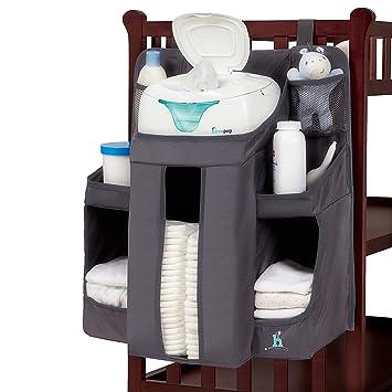 Organizador Panalera De Bebe Colocar En Puerta Armario Diaper Hanging Organizer