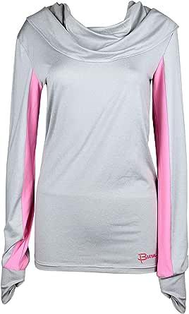 Burn Activewear Cowl Neck T-Shirt For Women