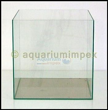 40 x 40 x 40 Nano Style Acuario Platillos Dados Cristal Platillos 40 Pulido transparente: Amazon.es: Productos para mascotas