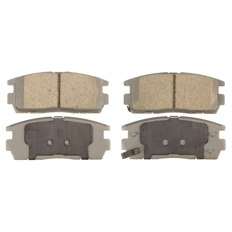Rear Wagner ThermoQuiet QC1275 Ceramic Disc Pad Set