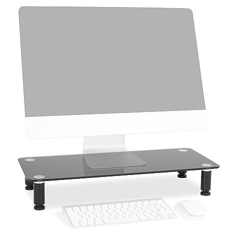 Duronic DM052-2 Soporte Monitor Ajustable, Elevador para Pantalla, Ordenador Portátil, Televisor