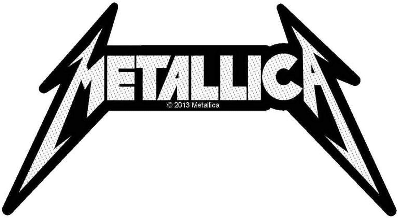 Metallica con forma de parche con logotipo en la: Amazon.es: Ropa ...