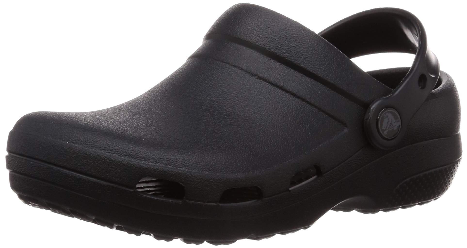 Crocs Specialist II Vent Clog, Black 7 US Men/ 9 US Women M US