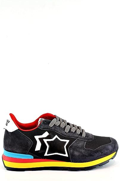 Sneakers Uomo ATLANTIC STARS ANTARES AB-89C Nero 44  Amazon.it ... b5d2ec7b1fb