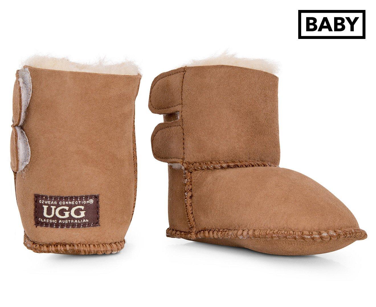 28ad7ba800f Ozwear Connection Baby UGG Boot Chestnut: Amazon.com.au: Fashion