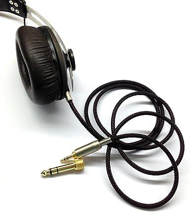 Audiokabel Für Sennheiser Momentum In Ear On Ear Kopfhörer Ersatzkabel 1 2 M 1 5 M 2 5 M 3 M Elektronik
