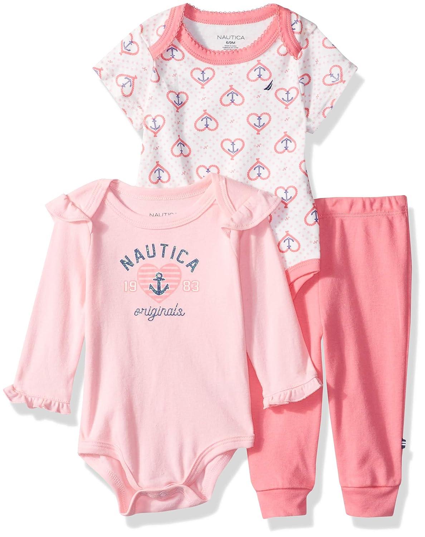 驚きの価格が実現! Nautica (KHQ) Sets (KHQ) (RJ7QG) Pink/Print PANTS PANTS ベビーガールズ 3 - 6 Months Pink/Print Vanilla B079QPJW6F, かまくら 晴々堂:1746df69 --- a0267596.xsph.ru