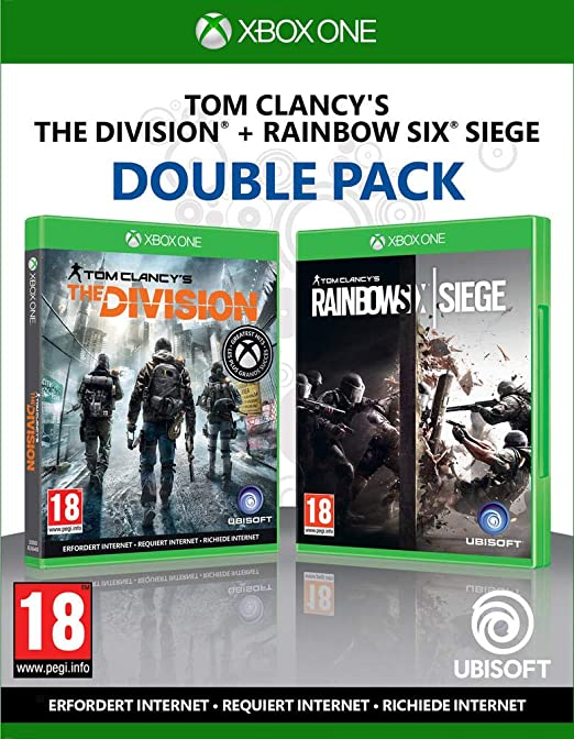 Compilation Tom Clancys: Rainbow Six Siege + The Division Xbox ...