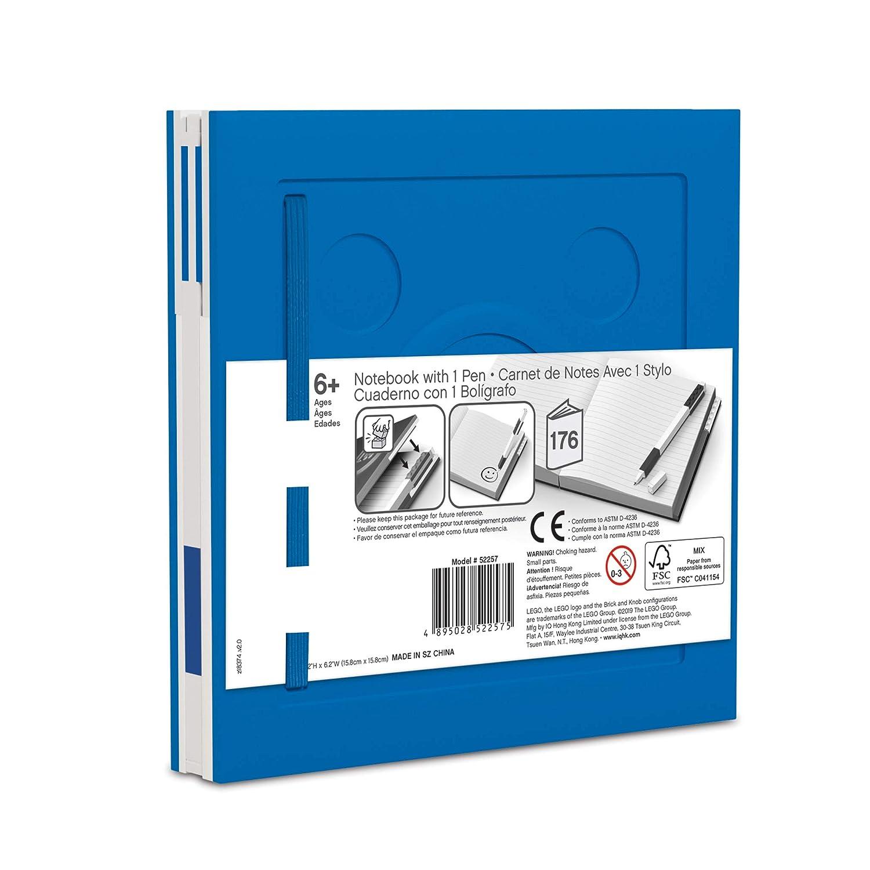 Amazon.com: LEGO Stationery - Cuaderno de bloqueo con ...