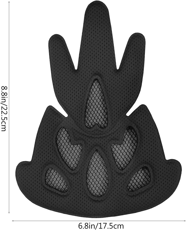 accesorios universales para casco de bicicleta VORCOOL Kit de almohadillas para casco para exteriores almohadillas de espuma para casco de motocicleta juego de 23 unidades