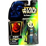 Star Wars 1997 Power of the Force - Bib Fortuna with Hold Out Blaster