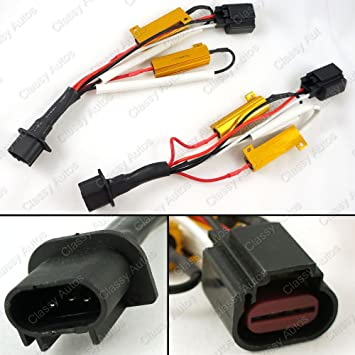 71TQvUzVXoL._SY355_ amazon com classy autos h13 9008 hid conversion kit error free w  at gsmx.co