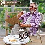 Cumbor French Press Coffee Maker(34oz), Durable