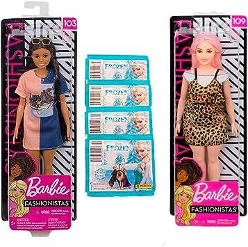 Amazon.es: Muñecas B a r b i e Pack Fashionistas (103 y 109) + ...