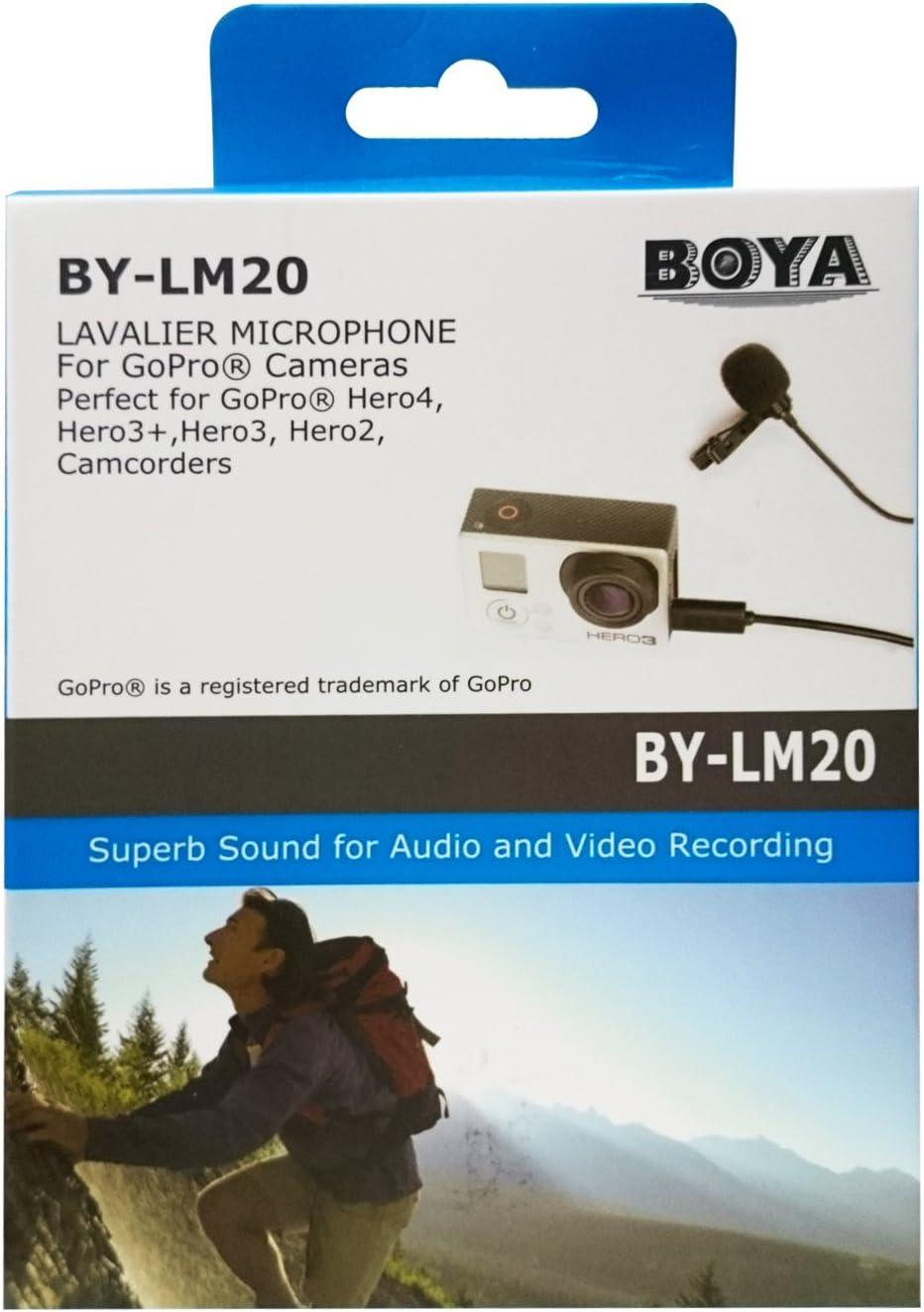 gaixample.org Hero2 Hero3 Boya 3.5 mm Jack Lavelier Condenser ...