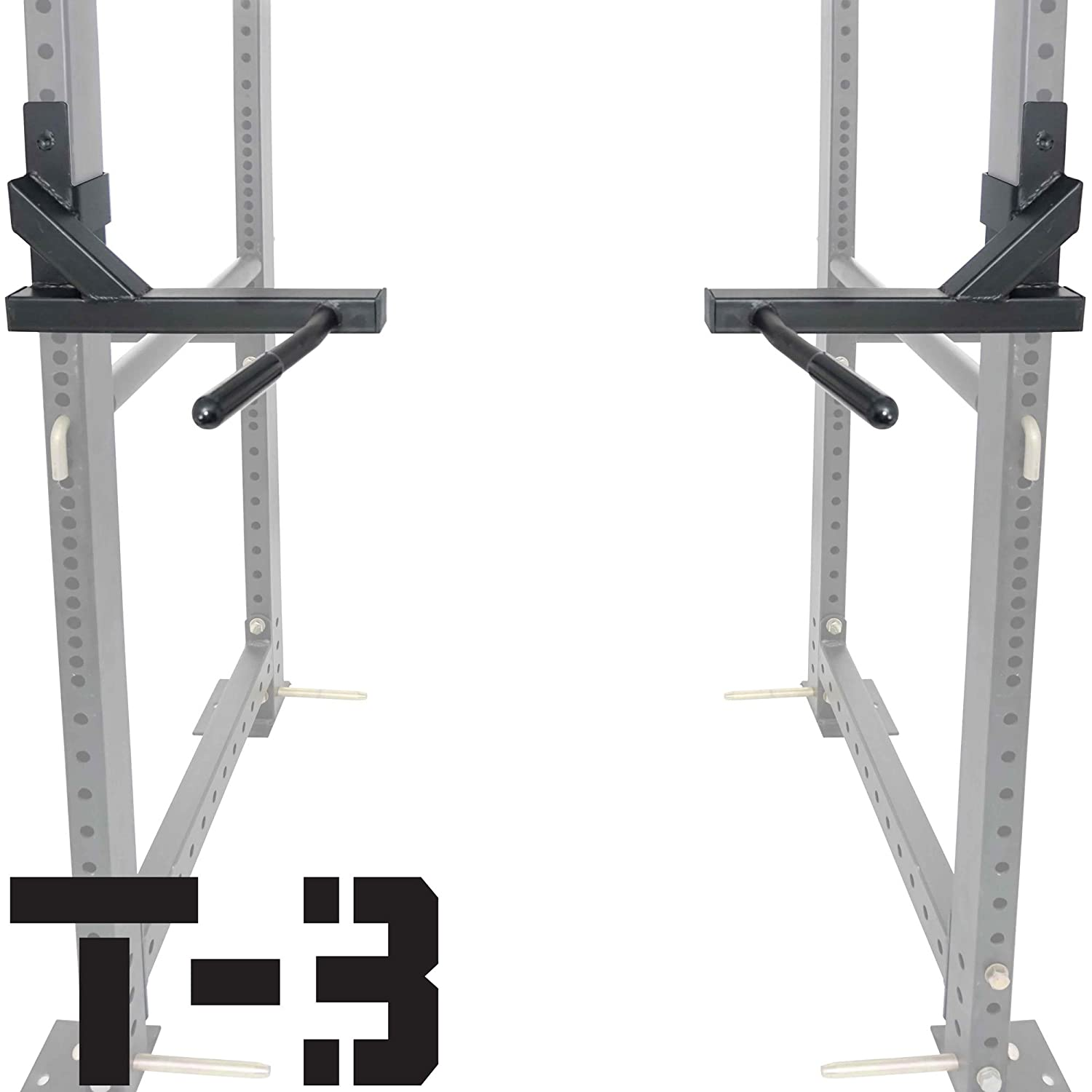 Amazon Titan T 3 Series Dip Attachment Bars for 2 x3 HD