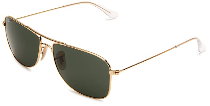 ray ban aviator gold 56