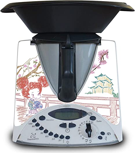 Vinilo para Thermomix TM31 de Juguete (niños) Modelo Japon: Amazon.es