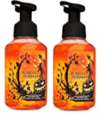 Bath and Body Works Purrfect Pumpkin Gentle Foaming Hand Soap - Pair of 2 - Sweet Cinnamon Pumpkin Scent with Halloween…