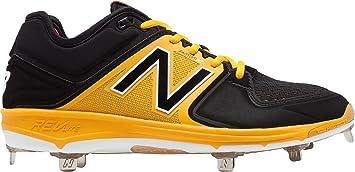 50f1acc2406 New Balance Men s L3000v3 Metal Baseball Shoe (Black Yellow