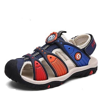 ae79181e9fdb7c Unisex-Kids  Sandals summer sports beach sandals outdoor shoes comfortable  flat walking trekking