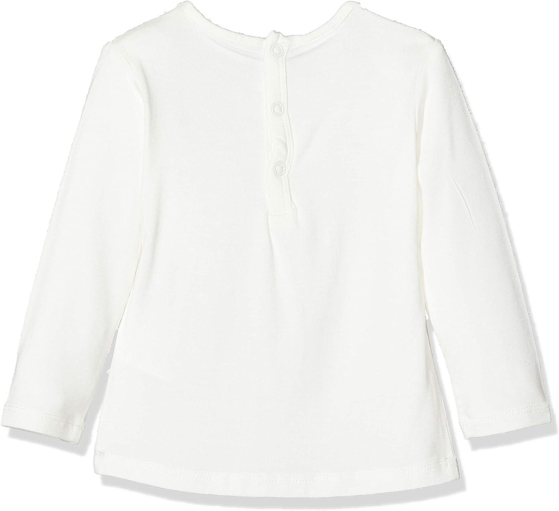 Brums T-shirt Jersey Viscosa Elasticizzato Con Jabot Maglietta a manica lunga Bimba