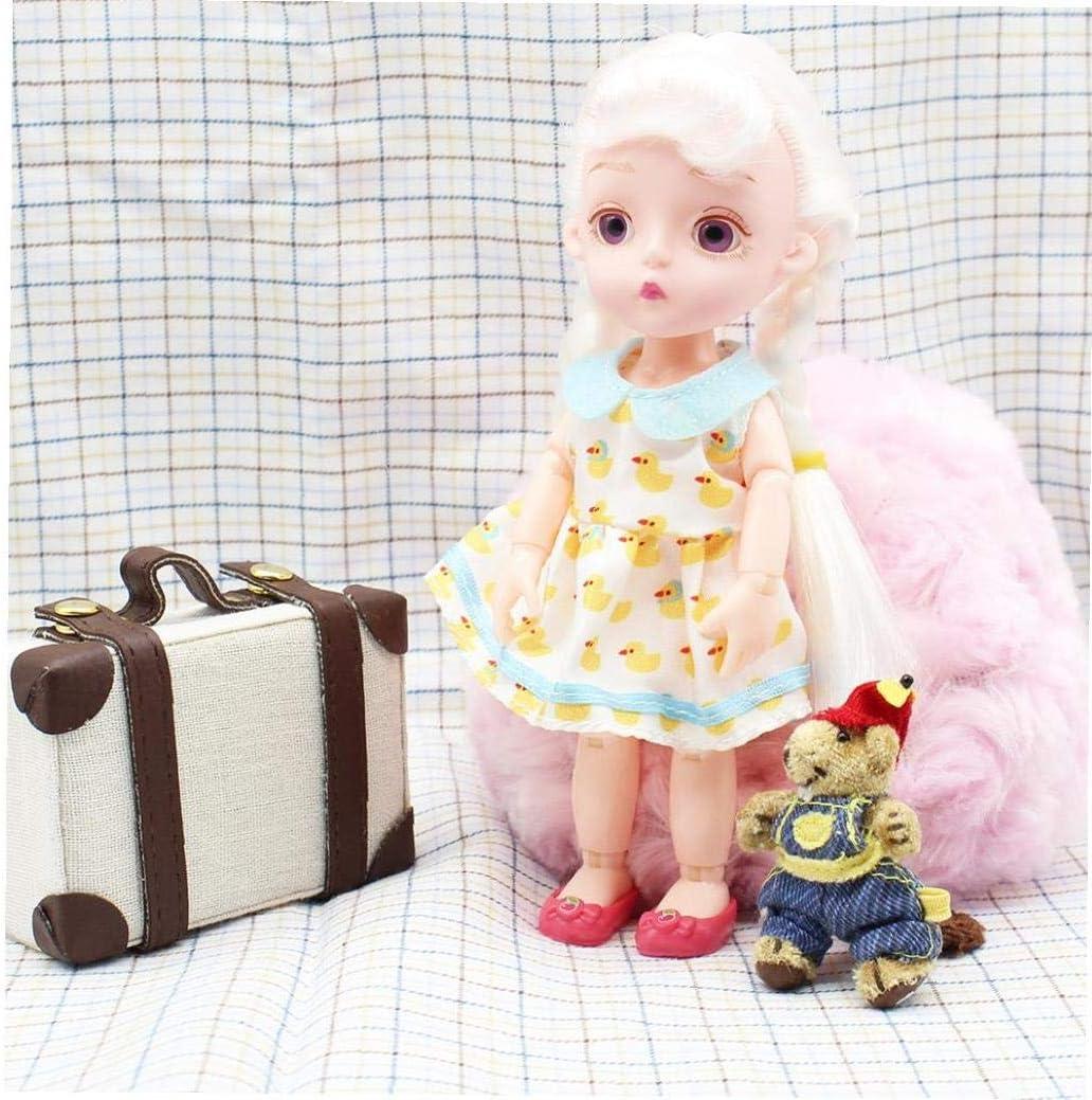 Canjerusof Exquisite Mini Gep/äck Box 6 Punkte Tragetasche Koffer Miniatur-Koffer Boxen F/ür Spielzeug-Haus Miniatur-Haus Zubeh/ör Beige