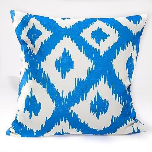 Amazoncom Outdoor Designer Pillow Lilly Pulitzer Fabric Handmade