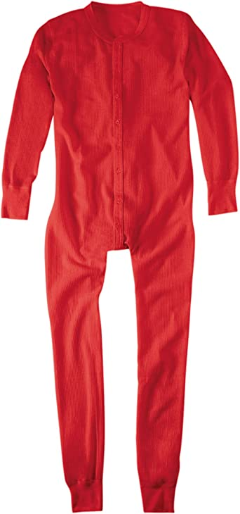 Extended Sizes Hanes Mens X-Temp Thermal Union Suit